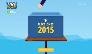 Tira tu voto